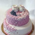 Детские торты украшенные кремом