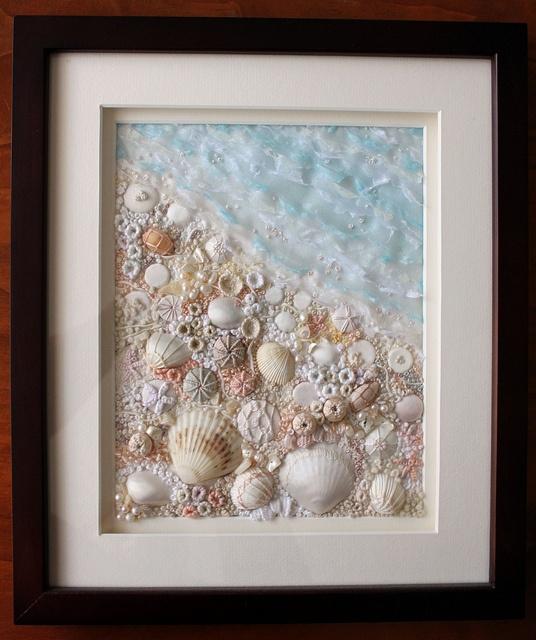 Картины из морских ракушек своими руками мастер класс