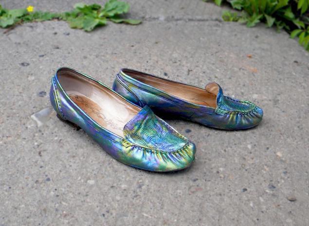 Старые туфли