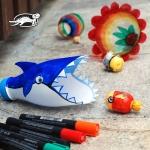 Акула и цветок