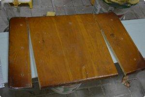 Декупаж старого стола мастер-класс