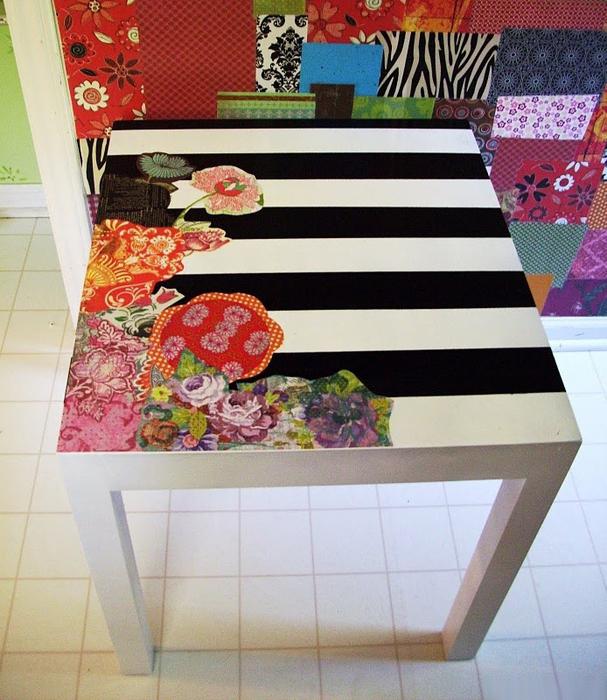 Декорирование столов своими руками фото