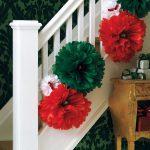 Красивый декор лестницы для дома и на свадьбу