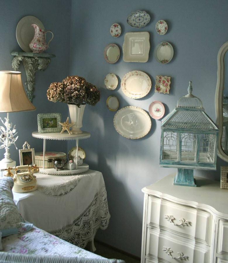 Декоративные тарелки на стене - стильное украшение дома