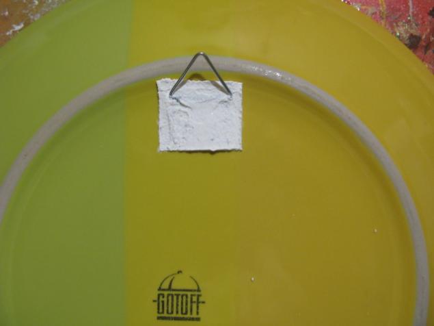 Как крепить тарелку на стену (мастер-класс)