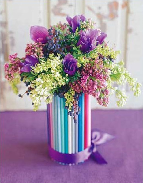 Букет для вазы своими руками