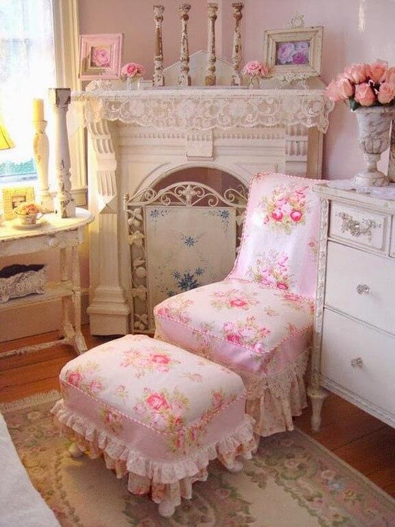 Чехлы на стулья в романтическом стиле (выкройка)