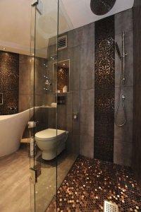 Декор ванной плиткой