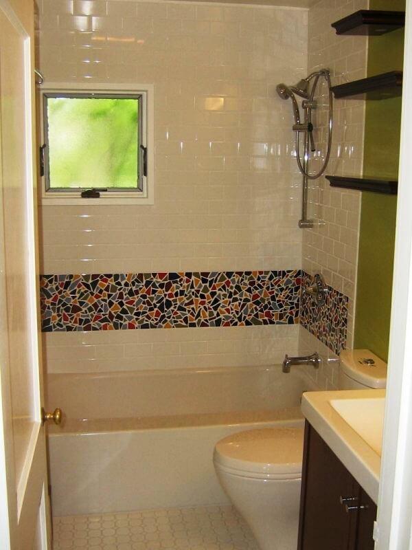 Декорирование ванной комнаты своими руками фото 51
