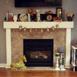 Декор камина — практичные идеи