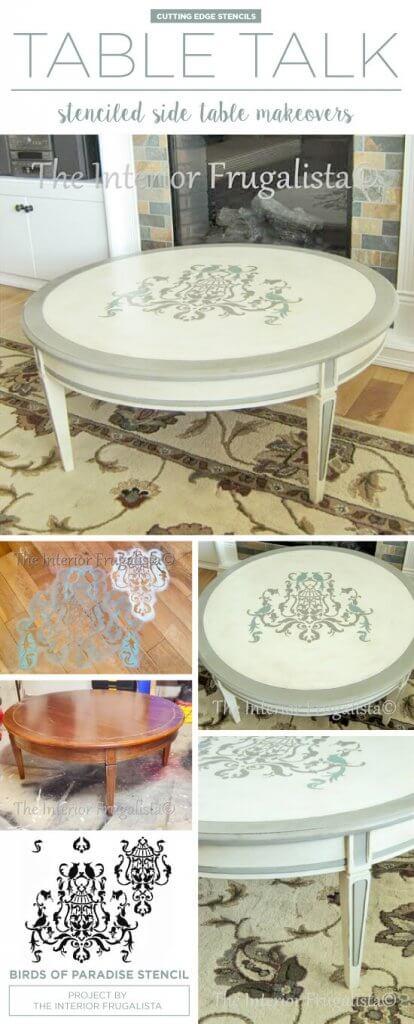 Поверхность стола декор
