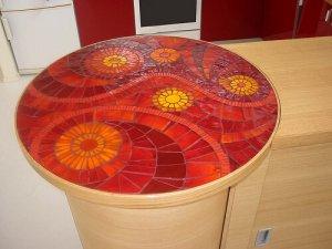Варианты декора мозаикой
