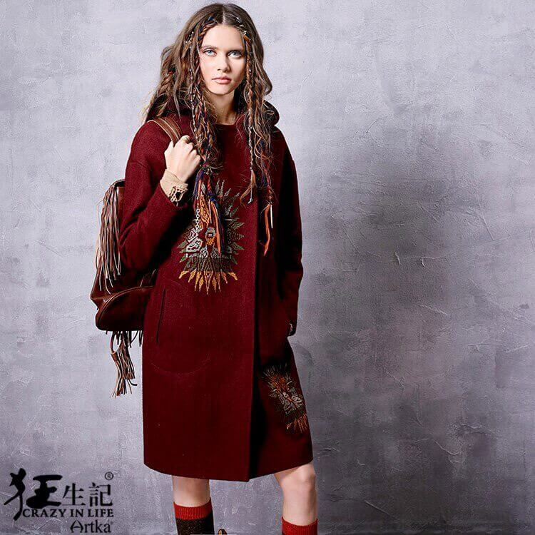 Способы декора пальто - идеи