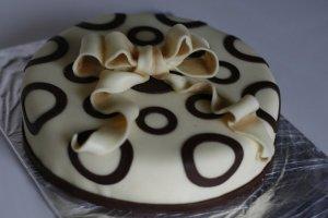 Варианты оформления шоколадом