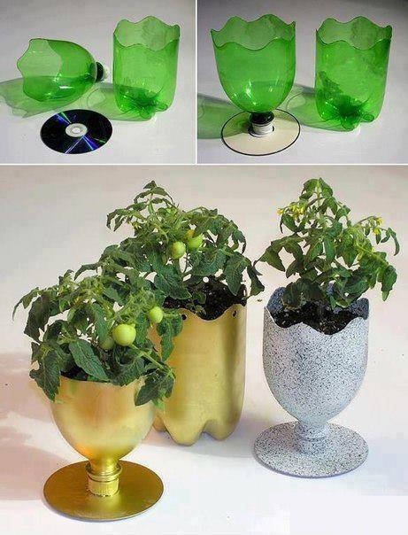 Горшки и вазы для рассады и цветов