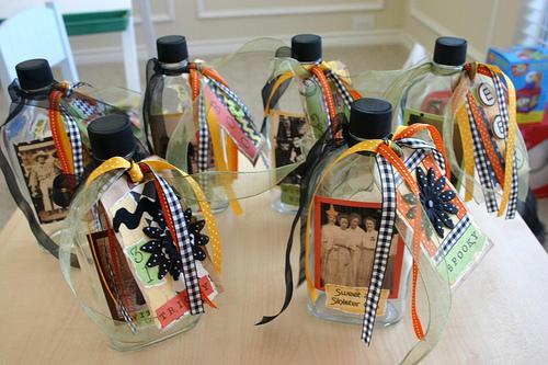 Как оригинально упаковать бутылку в подарок