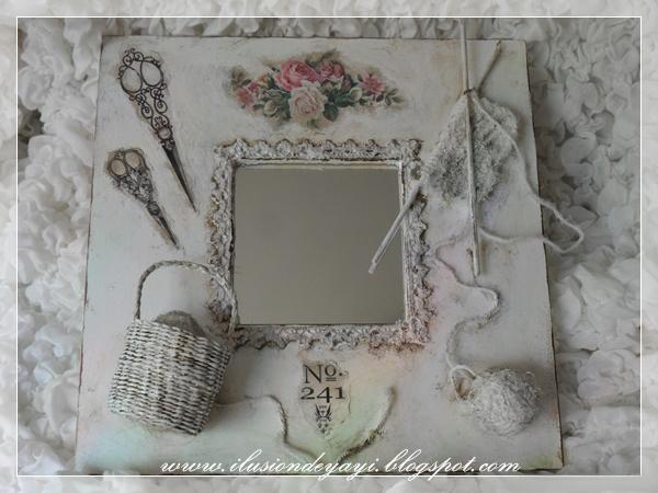 Как сделать красивый декор простого зеркала