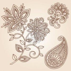 Трафареты для декора точечной росписью