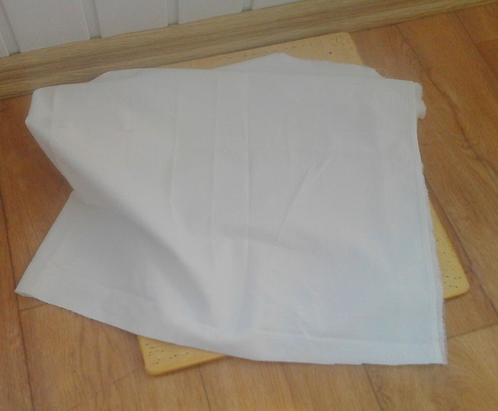 Способ перевода винтажной картинки на подушку (мастер-класс)