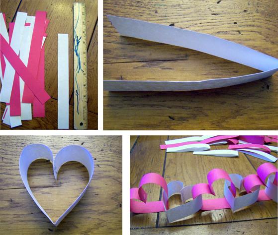 Гирлянды и флажки из цветной бумаги