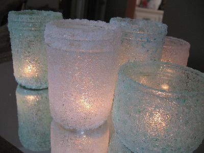 Декор банок солью (мастер-класс)