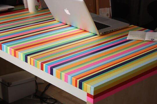 Декор стола своими руками - 2 мастер-класса
