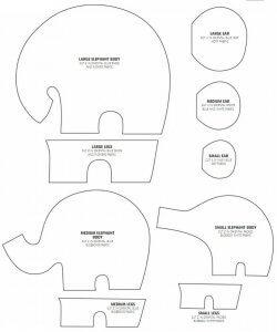 Как сшить слона для кухни своими руками