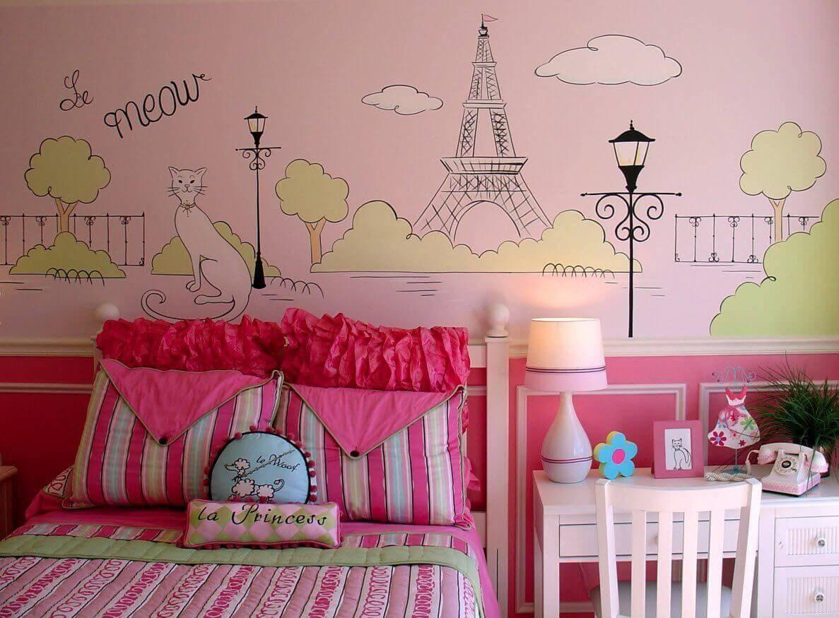 Детская комната для девочки - идеи