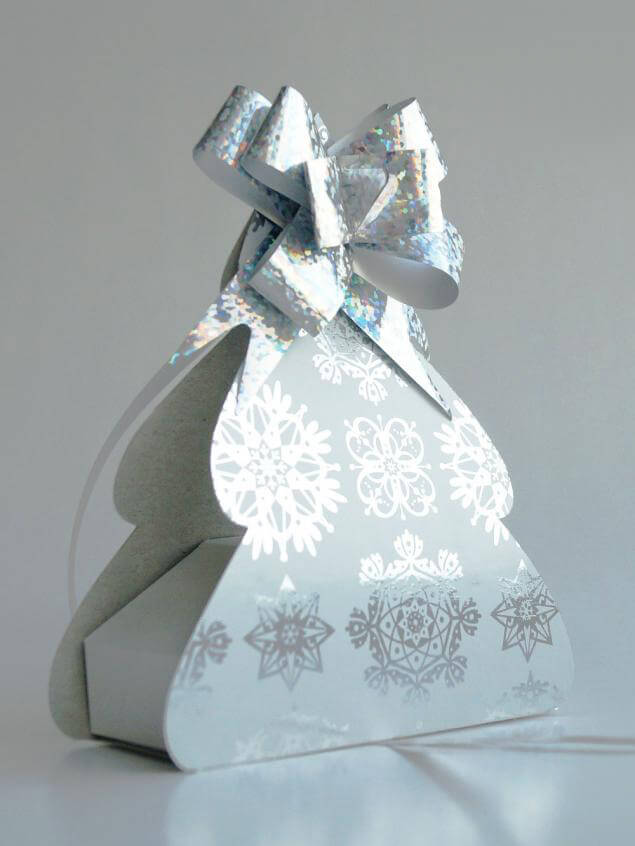 Упаковка для подарка Ёлочка