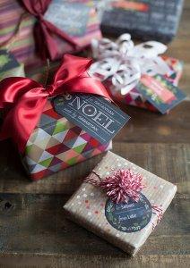 Новогодняя упаковка подарков своими руками - шаблоны, мастер-классы