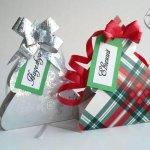 Новогодняя упаковка подарков своими руками – шаблоны, мастер-классы