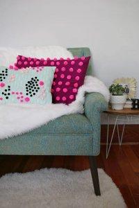 Самый модный декор подушек