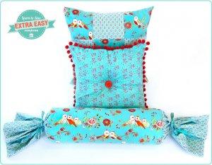 Декор подушек своими руками - шитьё и вязание!