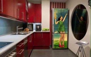 Декор старого холодильника своими руками - вторая жизнь техники!