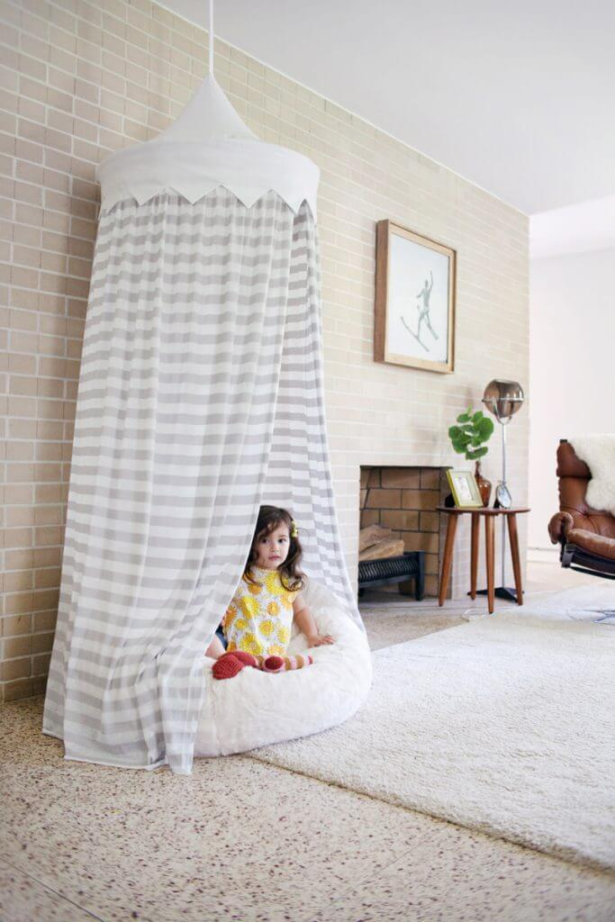 Балдахин на детскую кроватку своими руками - выкройка и мастер-класс