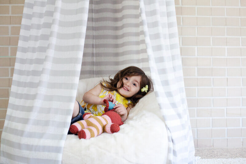 Как сделать балдахин на кроватку своими руками - мастер-класс