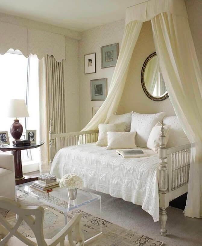Идеи балдахинов и постельного белья