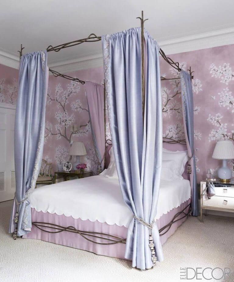 главное балдахин над кроватью своими руками фото простые
