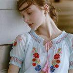 Как украсить блузку – схемы и мк