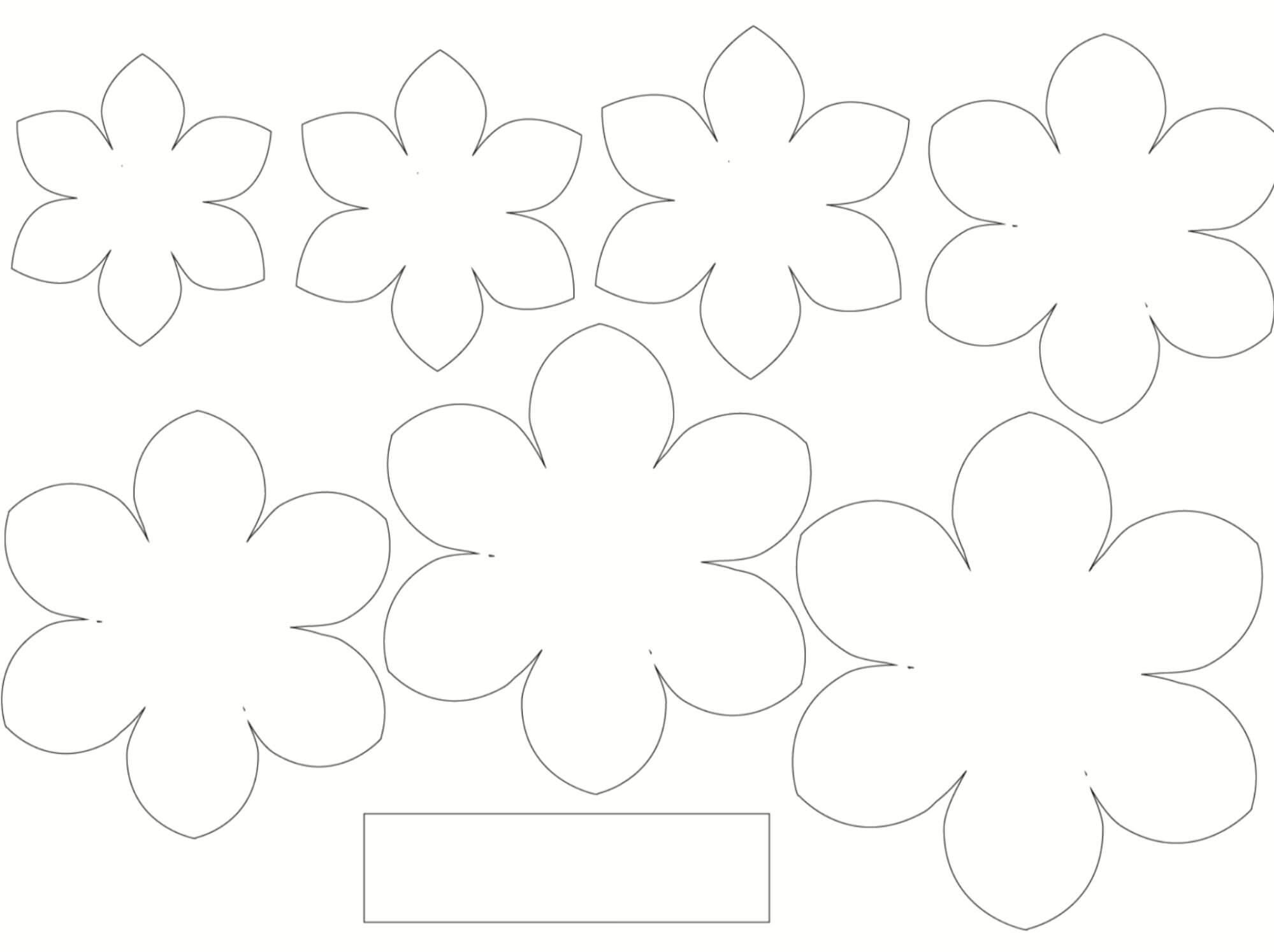 стили, цветок из бумаги на открытку шаблон столь экстравагантны, чтобы
