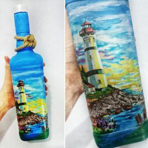 Как украсить бутылку на 23 февраля - супер-подарки своими руками!