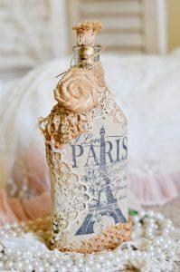 Идеи для декора бутылок
